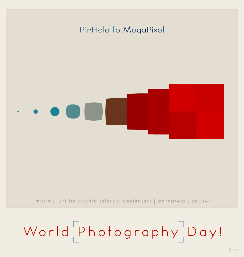 World Photography Day 2013 Poster World Photography Day 1