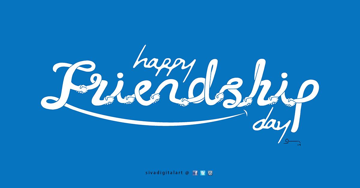Happy Friendship Day By Sivadigitalart B