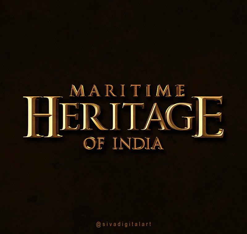 Maritime Heritage of India_Typo_by Sivadigitalart