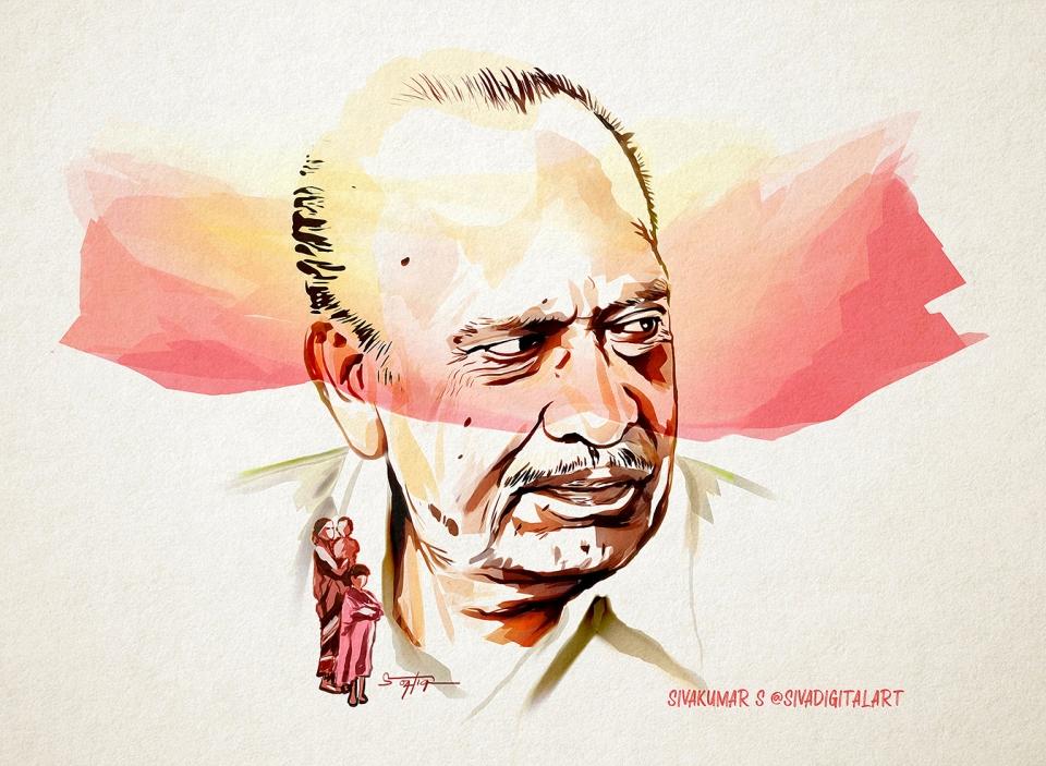 RIP Mahendran Sir_Sivadigitalart SML
